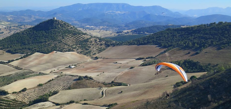 PARAGLIDING-SPAIN-MONTELLANO-FLYING-SITE