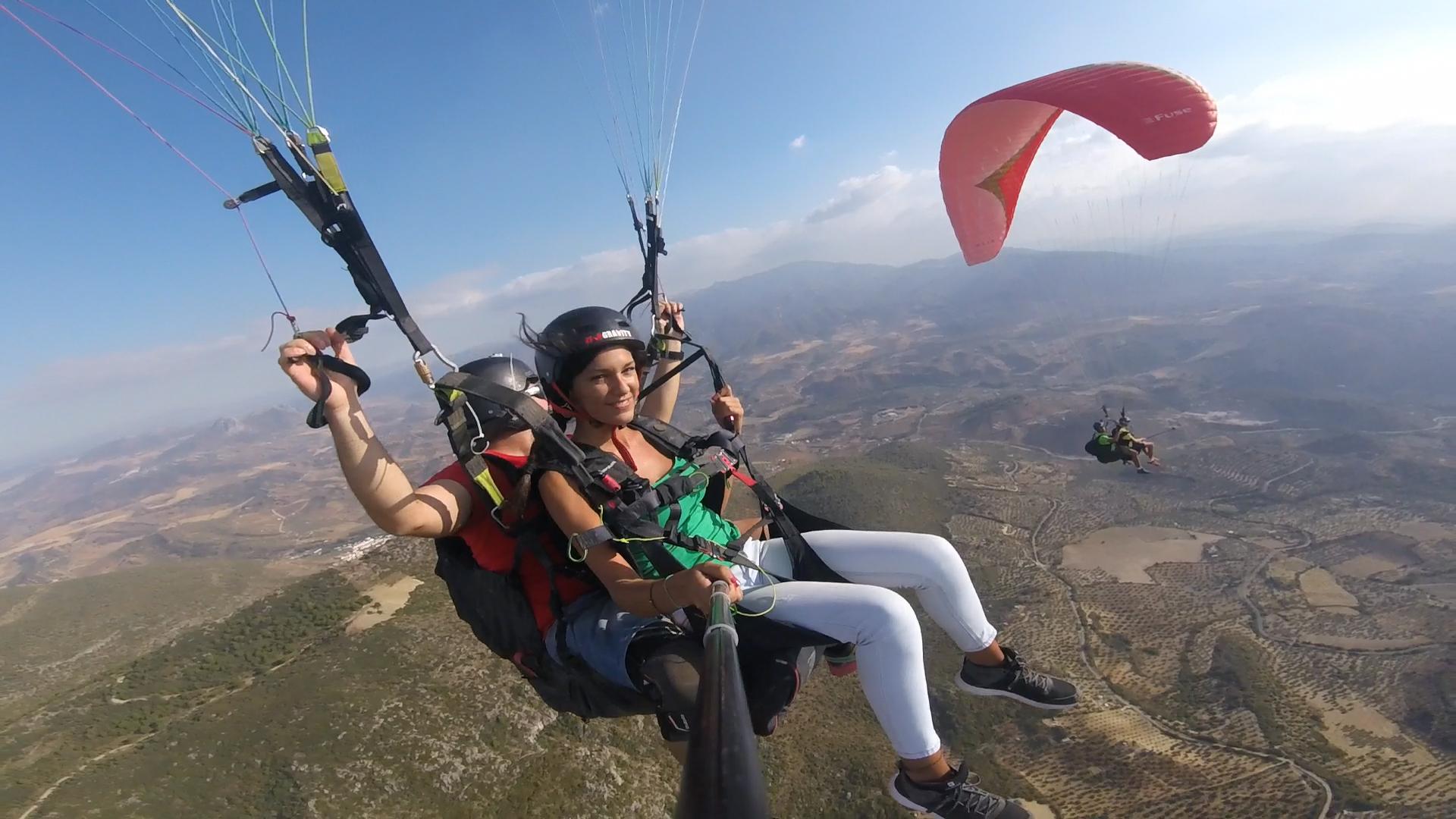 Paragliding Tandem Flight | Algodonales, near Cadiz, Sevilla