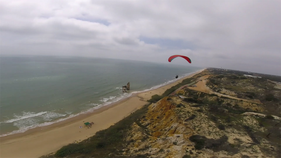 Cross-country on the beach! | ZERO GRAVITY PARAGLIDING SPAIN